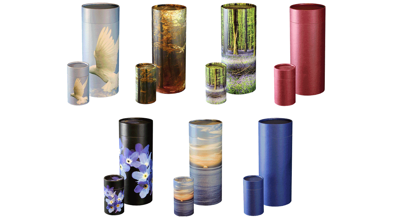 tubes for ashes